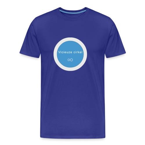 vicieuze cirkel - Mannen Premium T-shirt