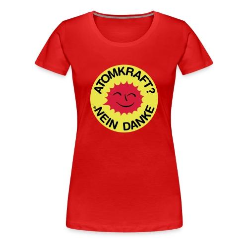 Nein zu Atomkraft - Frauen Premium T-Shirt