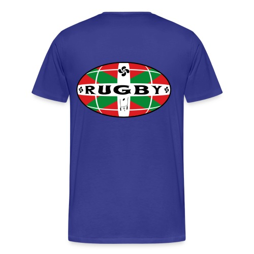 Rugby Basque T-Shirt - T-shirt Premium Homme