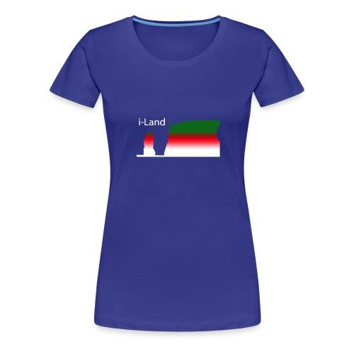 i-Land t-Shirt - Frauen Premium T-Shirt