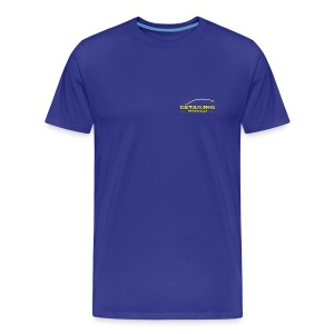 Detailing World 'Small Gold Logo' T-Shirt (Men's) - Men's Premium T-Shirt