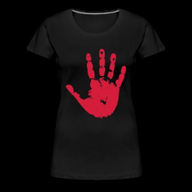 handprint hand print sign T-Shirts
