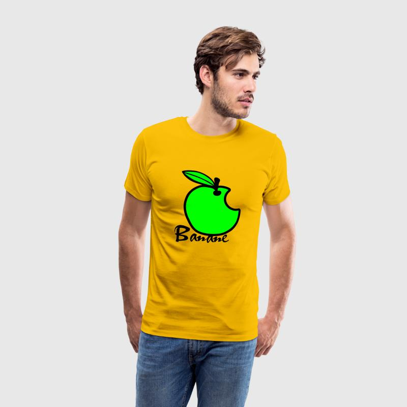 Apple Banana / Apple Artwork T-Shirts - Men's Premium T-Shirt