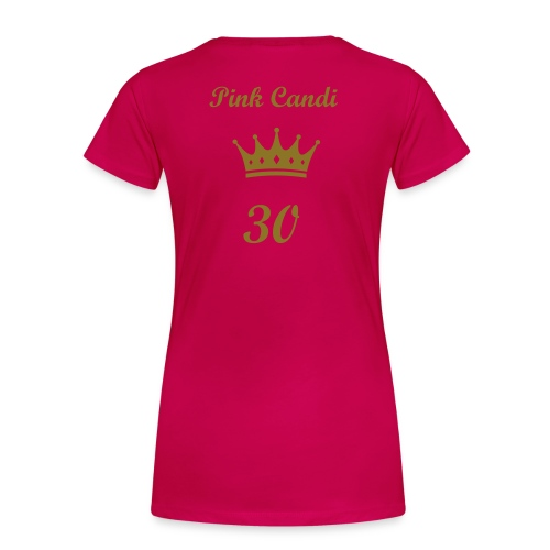 Pink Candi 30th Celebration T-Shirt - Women's Premium T-Shirt
