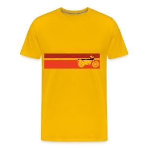 VanVan K6 Yellow Stripes - Men's Premium T-Shirt