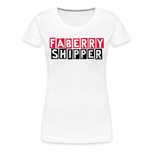 Faberry Shipper - White - Women's Premium T-Shirt