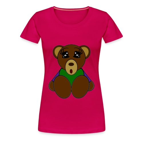 T shirt femme ours - T-shirt Premium Femme