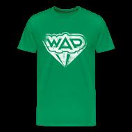 T-Shirts ~ Männer Premium T-Shirt ~ WAP weiss klassisch