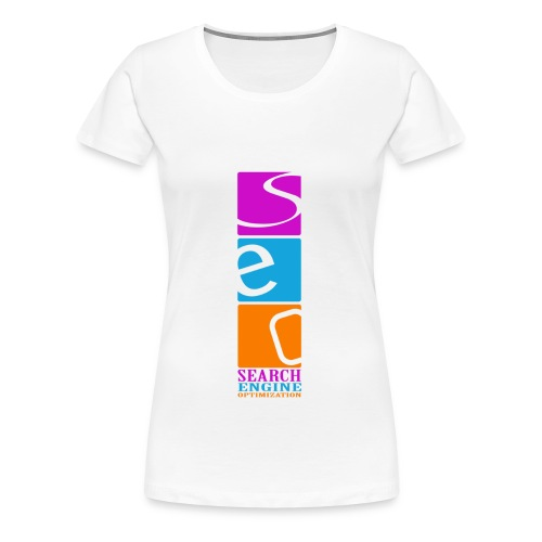 Search Engine Optimization - T-shirt Premium Femme