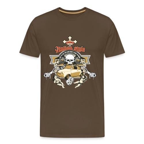 Spaghetti Guns  - Men's Premium T-Shirt