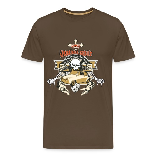 Spaghetti Guns  - Men's Premium T-Shirt