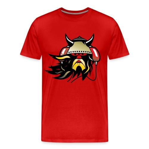 Music viking - Premium-T-shirt herr
