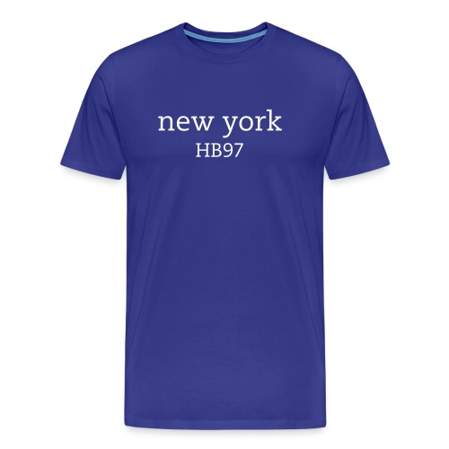 Hampton Bay New York Mens Tee - Men's Premium T-Shirt