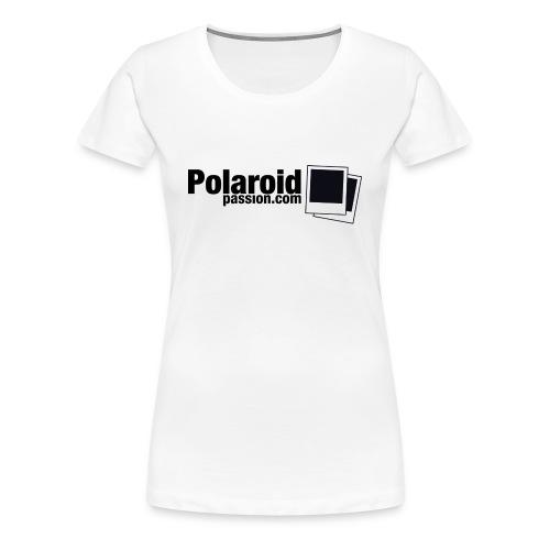 T-Shirt Girl Polaroid Passion - NB - T-shirt Premium Femme