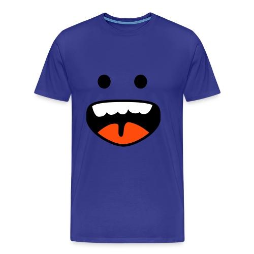 Happy face - Premium-T-shirt herr
