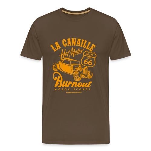 Burnout - T-shirt Premium Homme