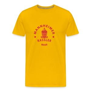 Mannheimer Rassler - Männer Premium T-Shirt