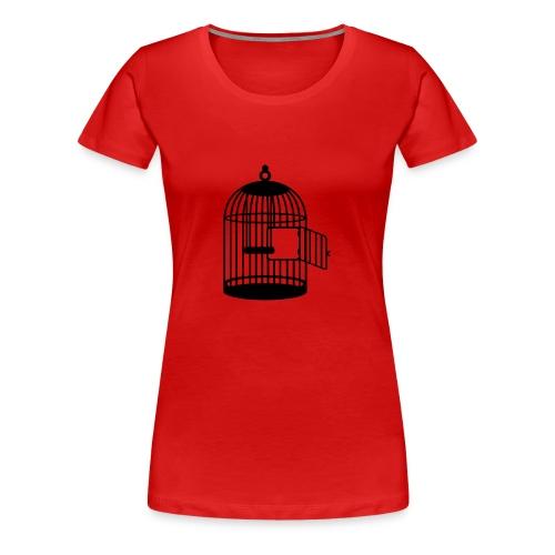 flucht - Frauen Premium T-Shirt