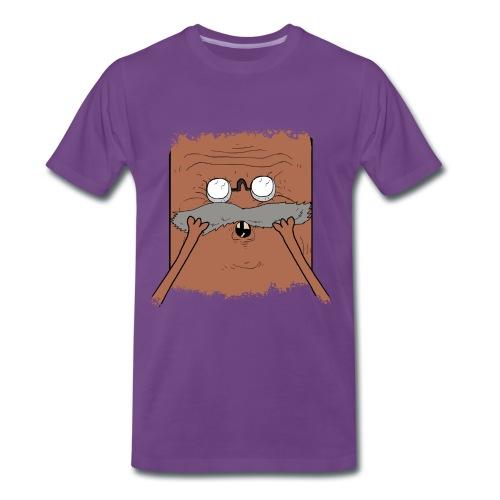 Korvspad (HERR) - Premium-T-shirt herr