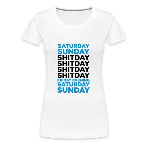 saturday - Premium T-skjorte for kvinner