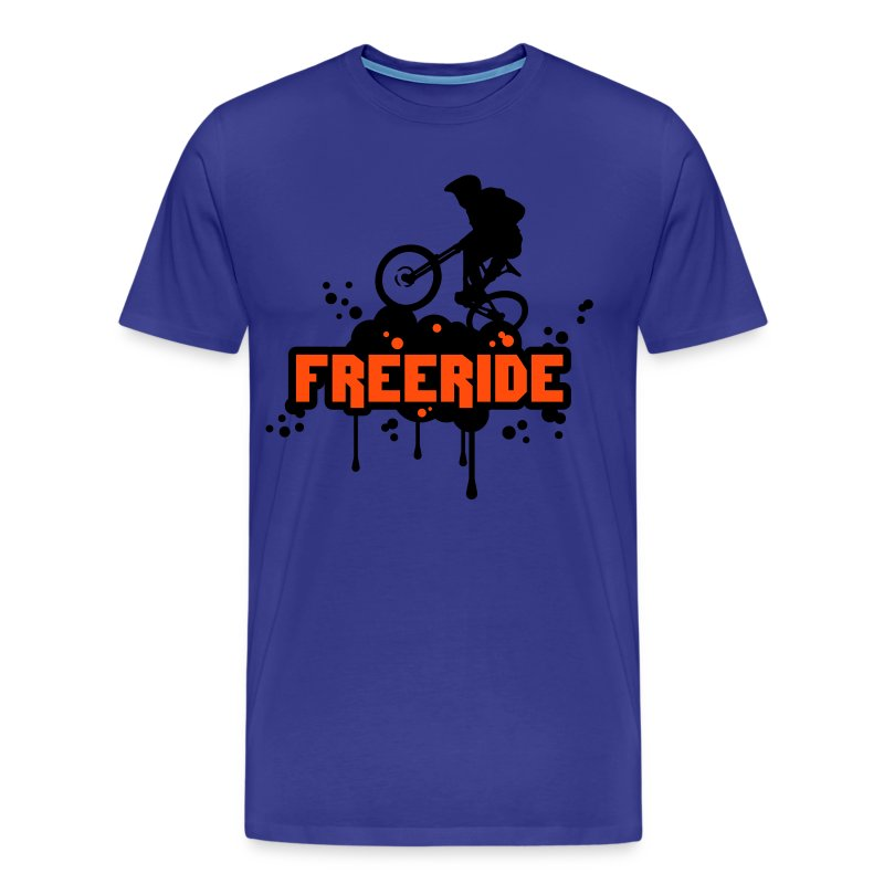 freeride logo Tee - Men's Premium T-Shirt