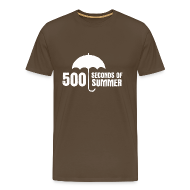 T-Shirts ~ Men's Premium T-Shirt ~ 500 Seconds of Summer