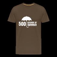 T-Shirts ~ Men's Premium T-Shirt ~ 500 Seconds of Summer