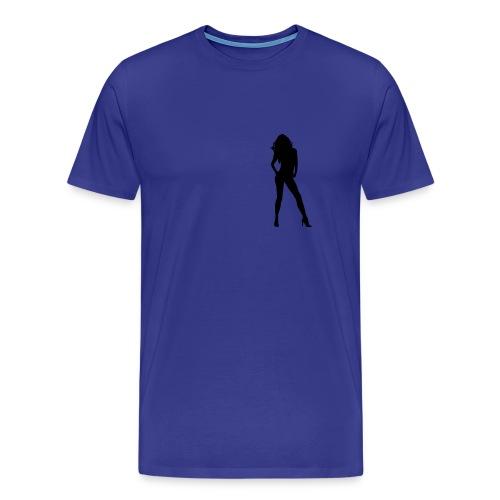 Lady - Premium T-skjorte for menn