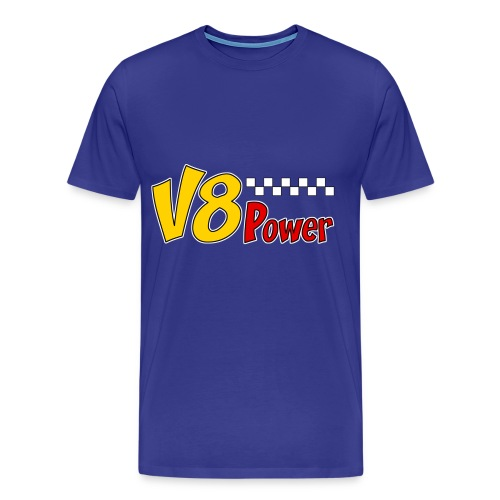 US V8 power t-shirt - Men's Premium T-Shirt