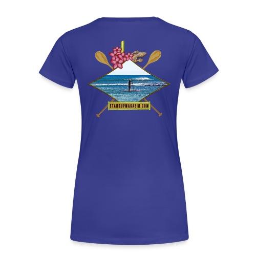 SUP Tropicale  - Frauen Premium T-Shirt