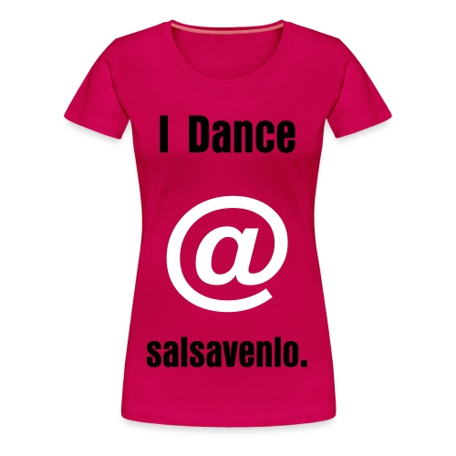 wanna dance with u - Vrouwen Premium T-shirt