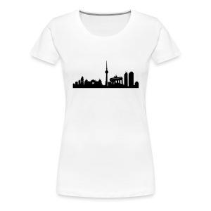 Berlin Skyline - T Shirt - Frauen Premium T-Shirt
