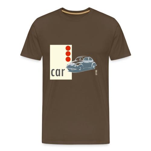 Car, klassisk tee - Men's Premium T-Shirt