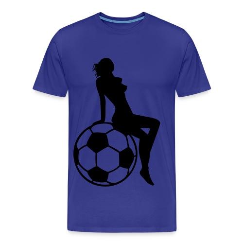 Hot-Fussball-Shirt - Männer Premium T-Shirt