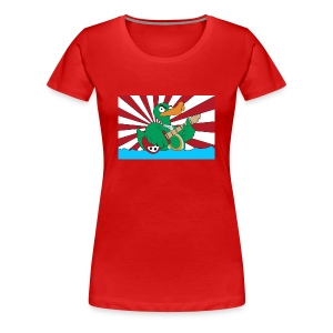 Girly Flag-Shirt duck@war  - Frauen Premium T-Shirt