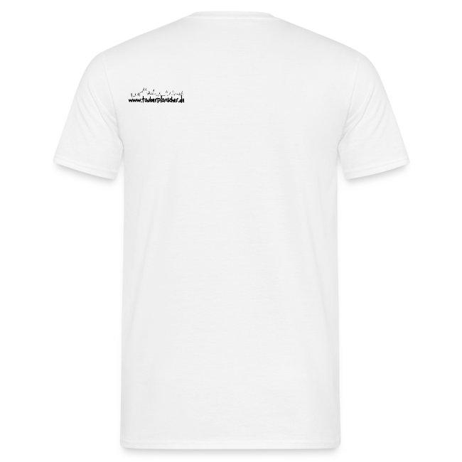 Basic T-Shirt duck@rock (Mini-Logo schwarz)