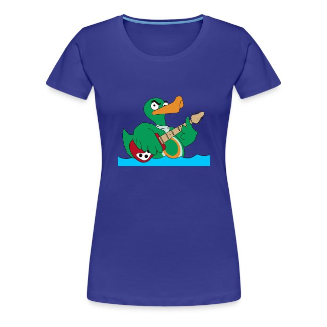 Girly-Shirt duck@rock