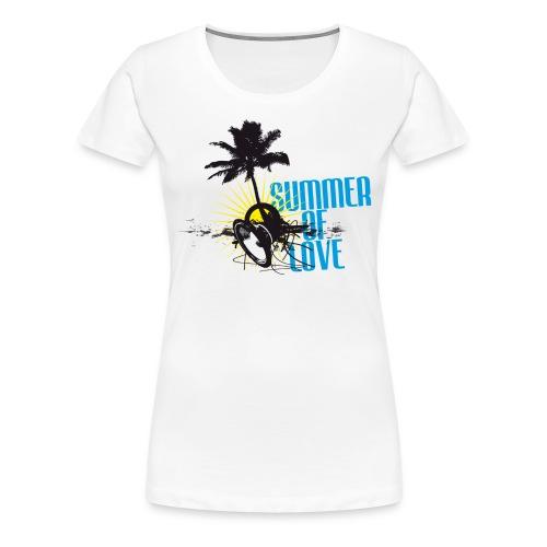 Summer of Love - Frauen Premium T-Shirt