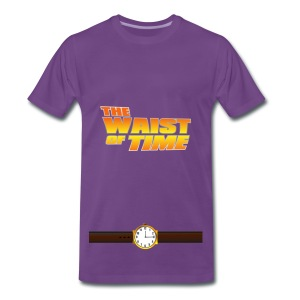The Waist of Time  - Men's Premium T-Shirt