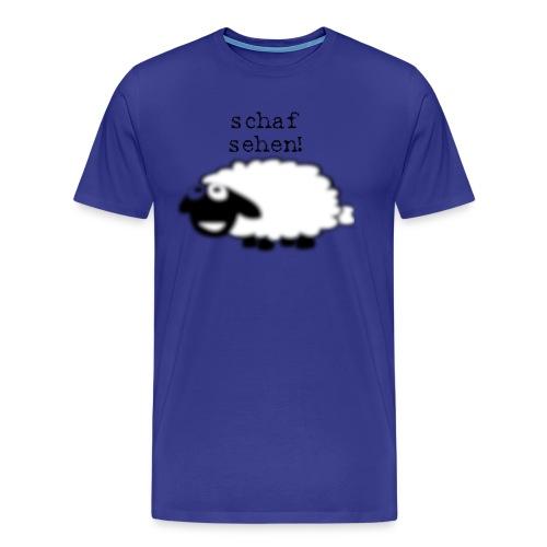 Schaf sehen - Männer Premium T-Shirt