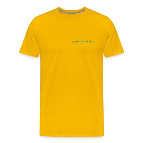 T-Shirt - Logo vorn und hinten - Männer Premium T-Shirt