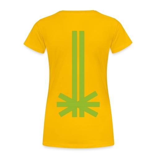 Tape (Rücken) - Frauen Premium T-Shirt