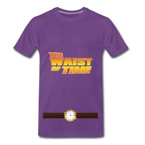 The Waist of Time  - Men's Premium T-Shirt