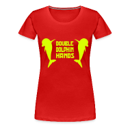T-Shirts ~ Women's Premium T-Shirt ~ Double Dolphin Hands!