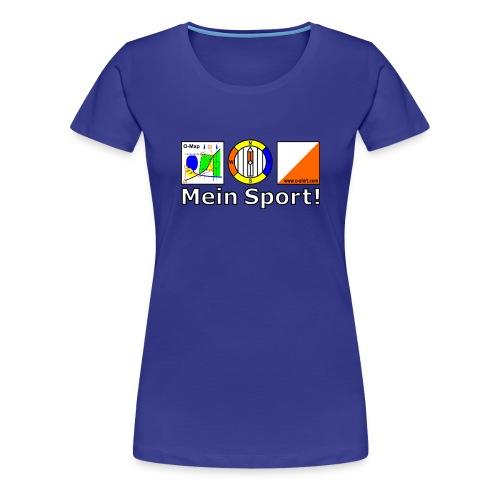 OL - Mein Sport! (w) - Frauen Premium T-Shirt