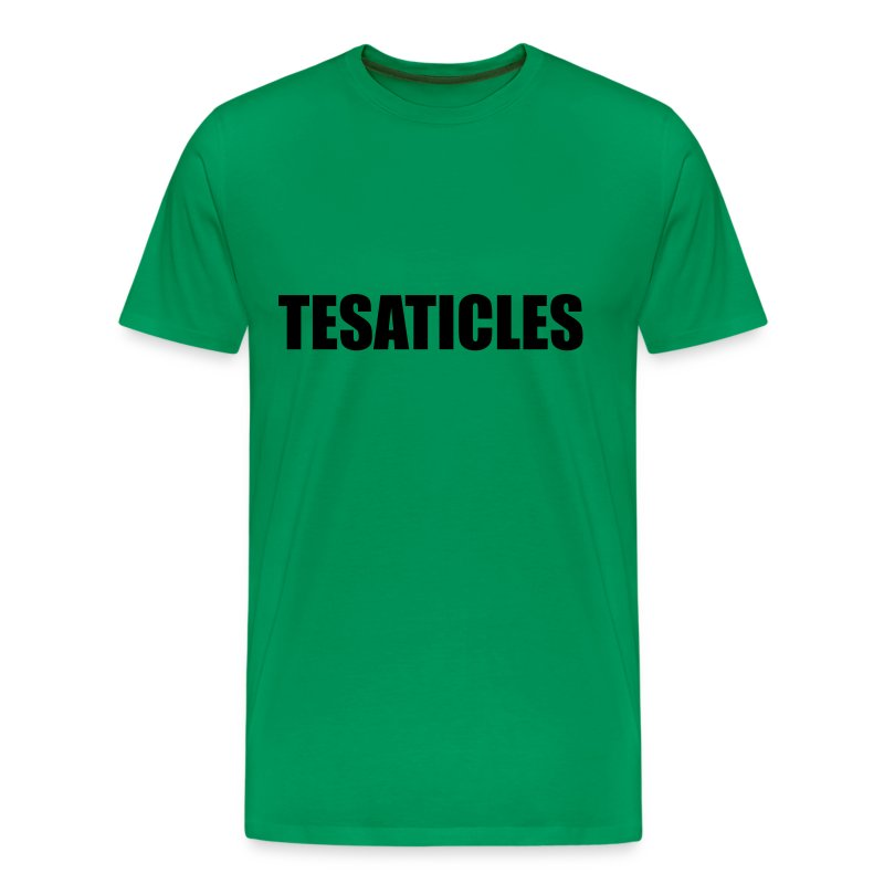 Tesaticles  - Men's Premium T-Shirt