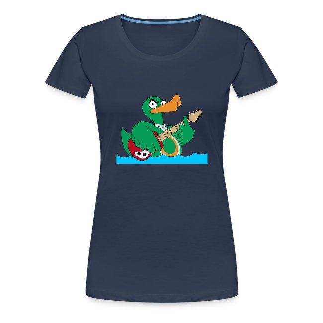 Girly-Shirt duck@rock