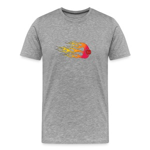 Your Six Is On Fire - Men's Premium T-Shirt