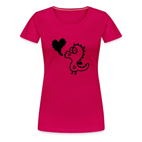 Lil Dragon - Girly - Women's Premium T-Shirt