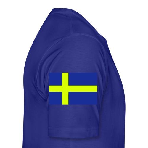 Sveriges Nr. 10 - Premium-T-shirt herr